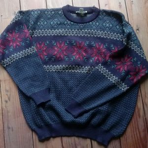 Men's LL Bean Wool Sweater